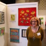 Cecilia Birelius på LC Vallentuna Konstutställning 2016