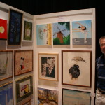 John Vequist på LC Vallentuna Konstutställning 2016