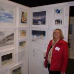 Katarina Trovallius Evers på LC Vallentuna Konstutställning 2016