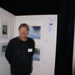 Rolf Lindegren på LC Vallentuna Konstutställning 2016